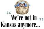 We're Not in Kansas Anymore is a delightful quote from the Wizard of Oz.  This quote comes with Toto all cuddled up in a warm basket.  The perfect gift idea for any Wizard of Oz fan.