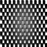 Black Checkerboard Grate