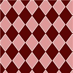 Sassy Red and Pink Checkerboard