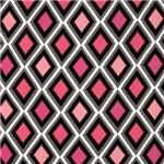 Pinup Style Pink Diamonds