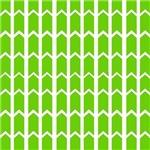 Lime Green Rivet Fence