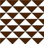 Dark Brown Triangles