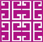 Roman Magenta Tiles