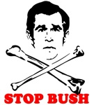Anti Bush - Stop Bush T-shirts