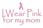 Breast Cancer Awareness: I wear pink for my mom.