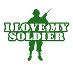I love my soldier T-shirts. Do you love your soldi