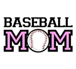 BASEBALL MOM T-shirts. For true baseball moms.