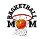 Baseketball mom. Your mom love basket? Giver a pre