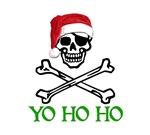 Pirate Christmas T-shirts. Merrry Christmas. YO HO