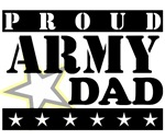 Proud Army Dad t-shirts and gifts.