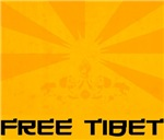 FREE TIBET T-shirts. Support Tibet's freedom. Get