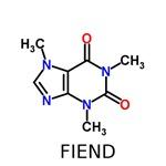 Caffeine Fiend molecule