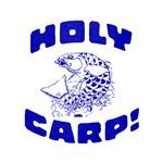 Holy Carp! Funny Fish design
