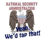 NSA Wire Tap Funny Shirt