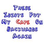 Cape On Backwards Bib