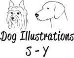 S-Y Dog Illustrations