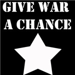 Give War A Chance
