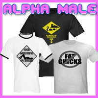 Alpha Male T-Shirts For The Self-Confident Man