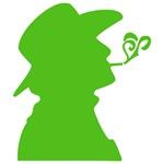 Green Smoking Cowboy