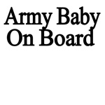 Army Baby On Board