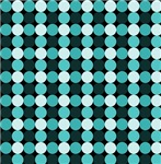 Turquoise Bling Dots