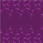 Purple Vines Design