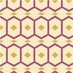 Yellow and Purple Diamond Shapes