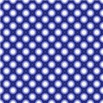 Cute Blue and White Flower Pattern