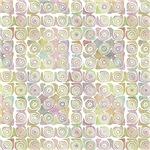 Pretty Contemporary Pastel Swirls Pattern