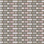 Gray and Purple Brick Wall Effect