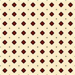 Burgundy and Beige Diamond Shapes Pattern