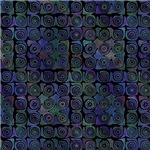 Dark Blue Swirl Pattern