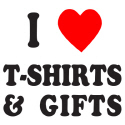 I HEART T-SHIRTS AND GIFTS