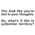 LOST IN YOUR THOUGHTS T-SHIRTS AND GIFTS