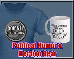 Funny Political Tees & Election 2008 Gear