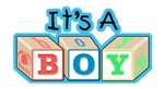 It's a Boy announcement