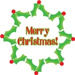 Merry Christmas Ornaments, Cards & Gifts