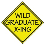 Funny Wild Graduate X-Ing T-shirts & Gifts
