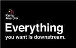 Everything you want is downstream