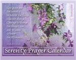 Serenity Prayer Calendars