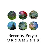 Serenity Prayer Ornaments