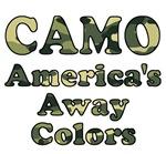 Camo America's Away Colors