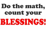 Do the math count blessings