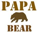 Papa Mama Baby Bear