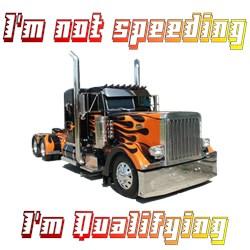 I'm Not Speeding