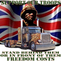 Truckers Supporting Our British Troops