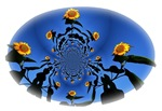 Circle of Sunflowers