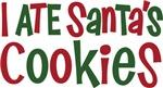 I ATE Santa's cookies