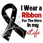 Ribbon Hero in My Life Melanoma Shirts