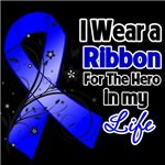 Ribbon Hero in My Life Colon Cancer Shirts